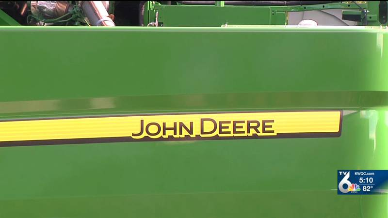 Sophomores attended John Deere Career Information Day at Moline High School on Tuesday. (KWQC)