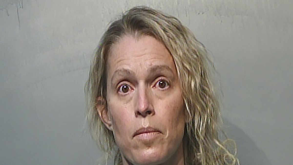 This Jan. 21, 2021, photo provided by the Polk County Jail in Des Moines, Iowa shows Jennifer...