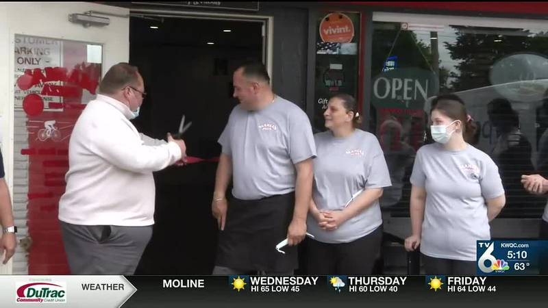 Maria's Pizza in Colona reopens