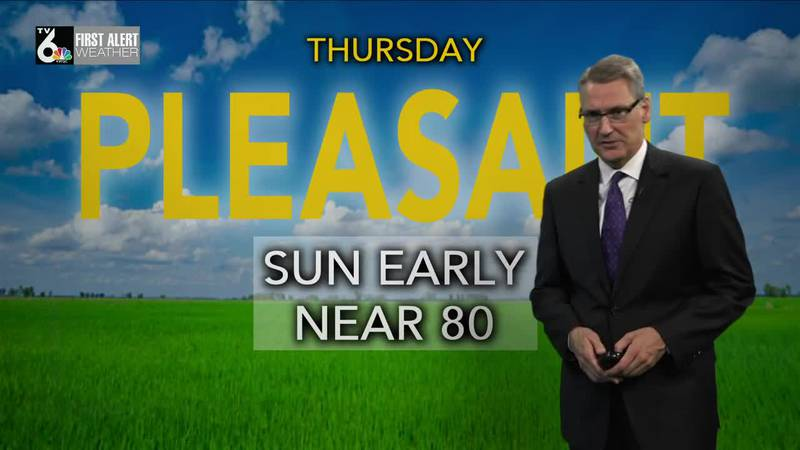 First Alert Forecast - A chilly night, ahead, with another fine day Thursday to look forward to!