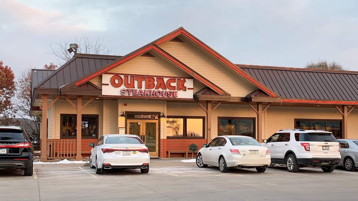 The Outback Steakhouse location in Davenport, Iowa, will close Sunday, Nov. 17 after 24 years...