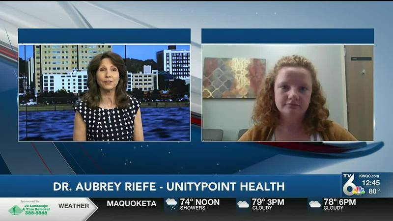 Dr. Aubrey Riefe with UnityPoint Health talks about the importance of these check-ups.