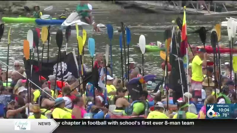 Hundreds travel down Mississippi River for 2021 Floatzilla