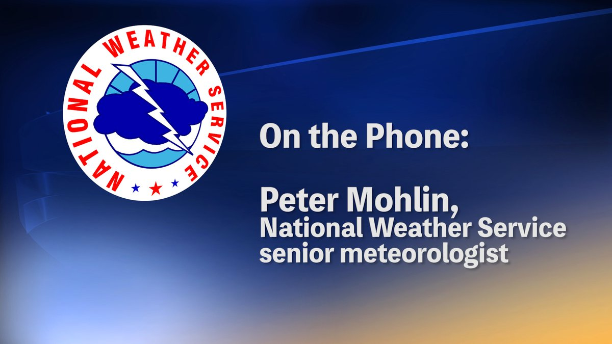 The National Weather Service discusses the damaging storms over the weekend and on Monday that...