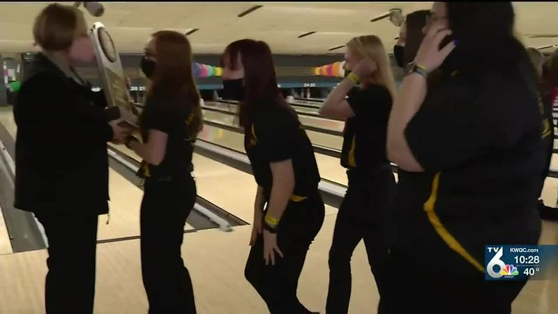 The Louisa-Muscatine Falcons are State Bowling champions for the 5th year in a row