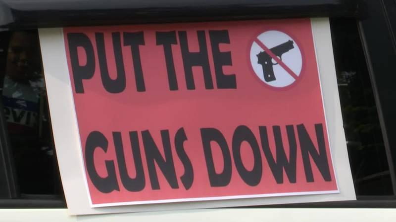 Davenport mother of shooting victim holds walk against gun violence