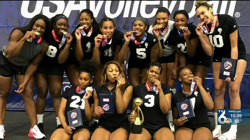 Monique Harris wants her story to inspire young girls interested in volleyball