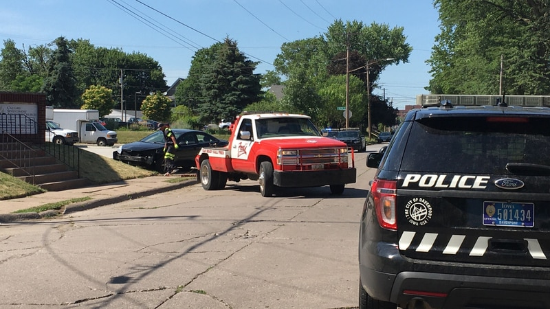 Davenport Police says there are no known victims at this time after responding to a shots-fired...