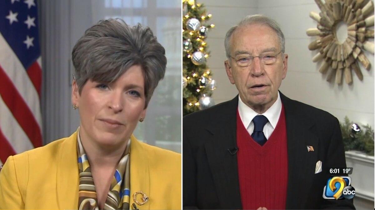 U.S. Senators Chuck Grassley and Joni Ernst on Thursday released a joint statement regarding...
