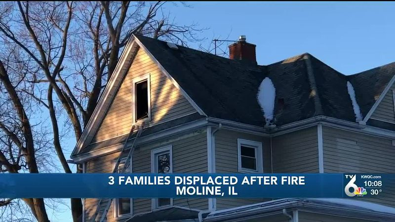 The Moline Fire Department is investigating a fire that broke out in a residential building...
