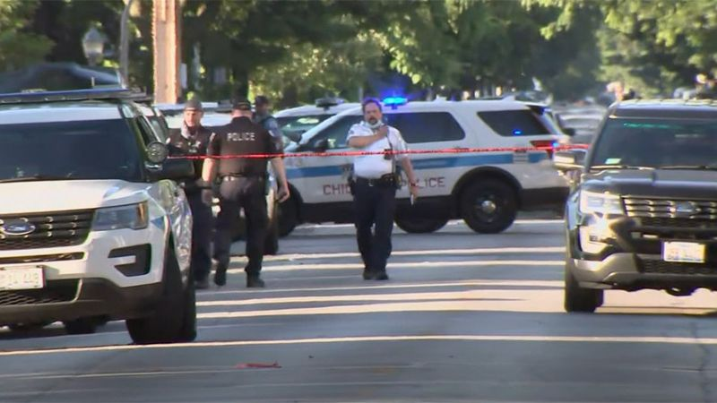 A mass shooting on Chicago's South Side claimed at least four lives Tuesday morning.