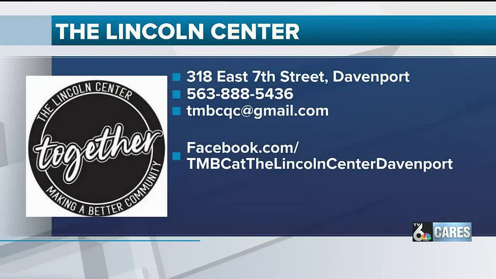 The Lincoln Center, Davenport, IA Location & contact information