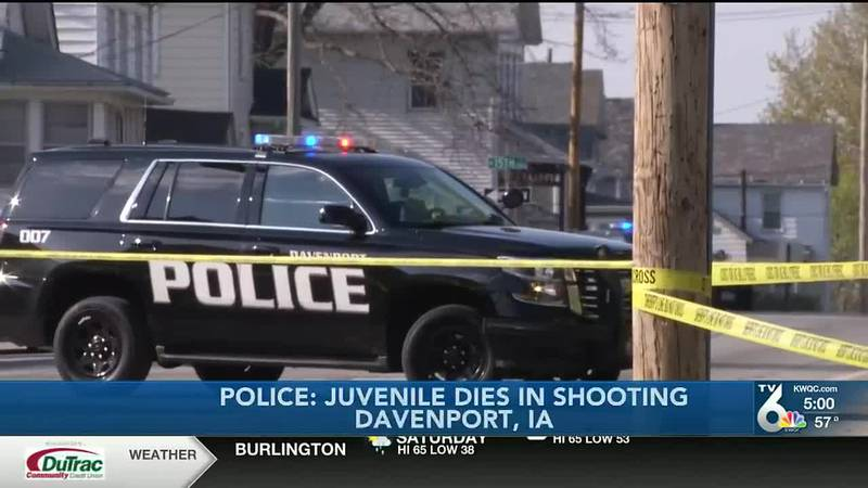 Davenport Police Department hold press conference on Thursday shooting