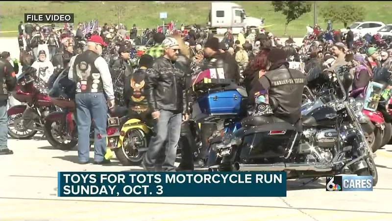 Toys for Tots motorcycle run Oct. 3