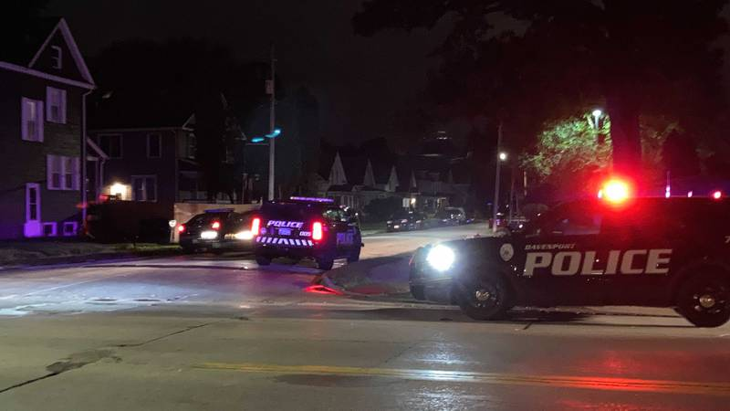 Shots fired in Davenport