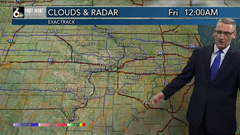 First Alert Forecast - Cooler Friday, but still ABOVE average!