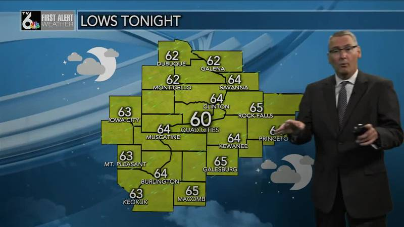 First Alert Forecast - Clouds, and EVENTUALLY, some rain