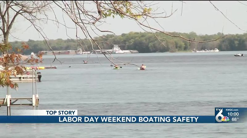 Labor Day weekend on the water, tips from Iowa DNR