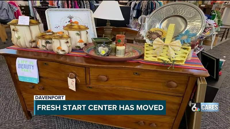 Fresh Start Center in Davenport has moved
