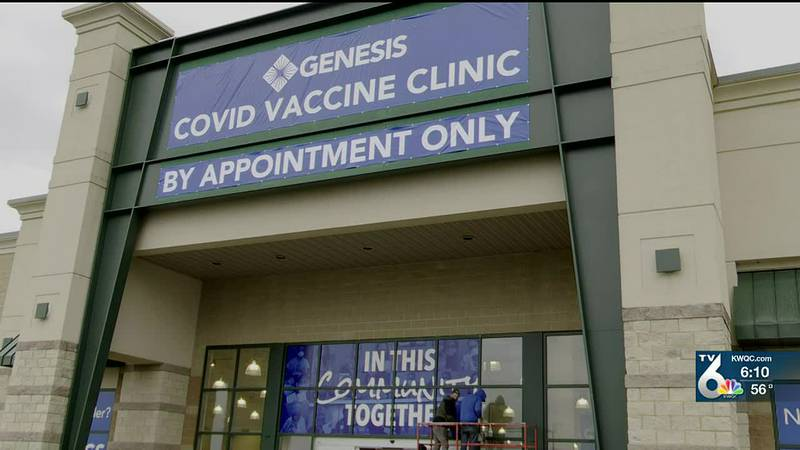 Genesis mass vaccination clinic starts this week