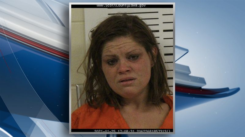 Stephanie Ann File, 35, was booked into the Scott County Jail on charges of first-degree arson,...