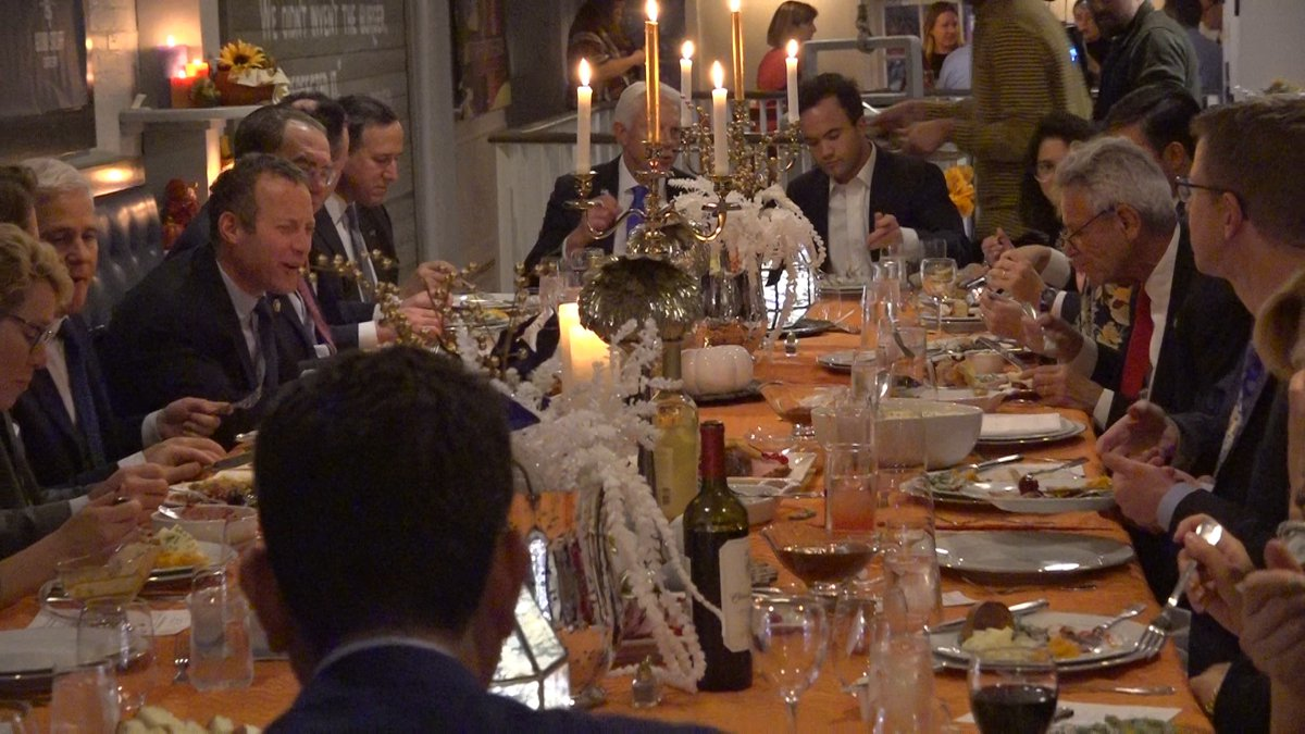 The Bipartisan Policy Center hosts lawmakers and political leaders for an early Thanksgiving...