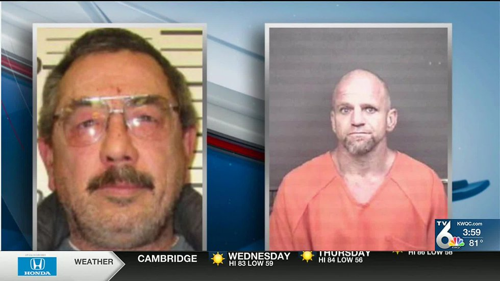 """On Wednesday, Moline police named David L. Whipple, 59, of Colona, and Jamison A. """"Jamie""""..."""