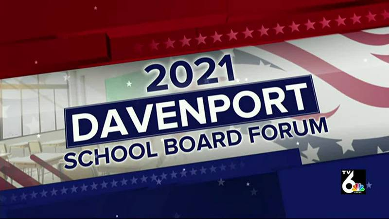 Candidates for the Davenport school board addressed a variety of issues, including diversity...