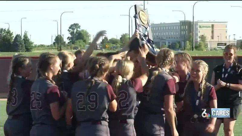 The Rockridge softball team finished an unbeaten season with a State Championship