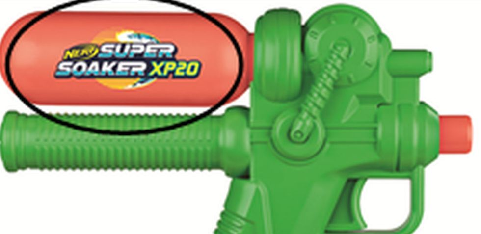 The Nerf Super Soaker XP 20 was sold for $8 at Target.