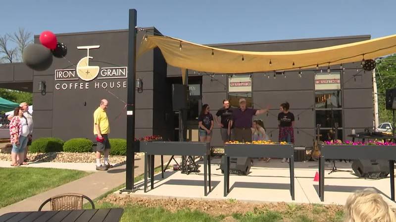 Iron + Grain Coffee House opens in Davenport's Hilltop Campus Village