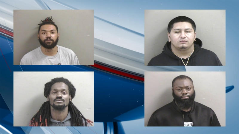 Galesburg PD made the series of arrests over a period of four days.
