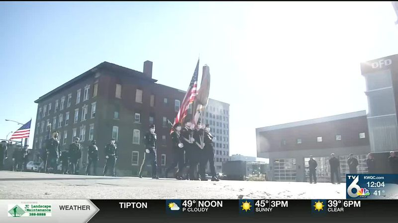Annual downtown Davenport parade honors veterans for their service