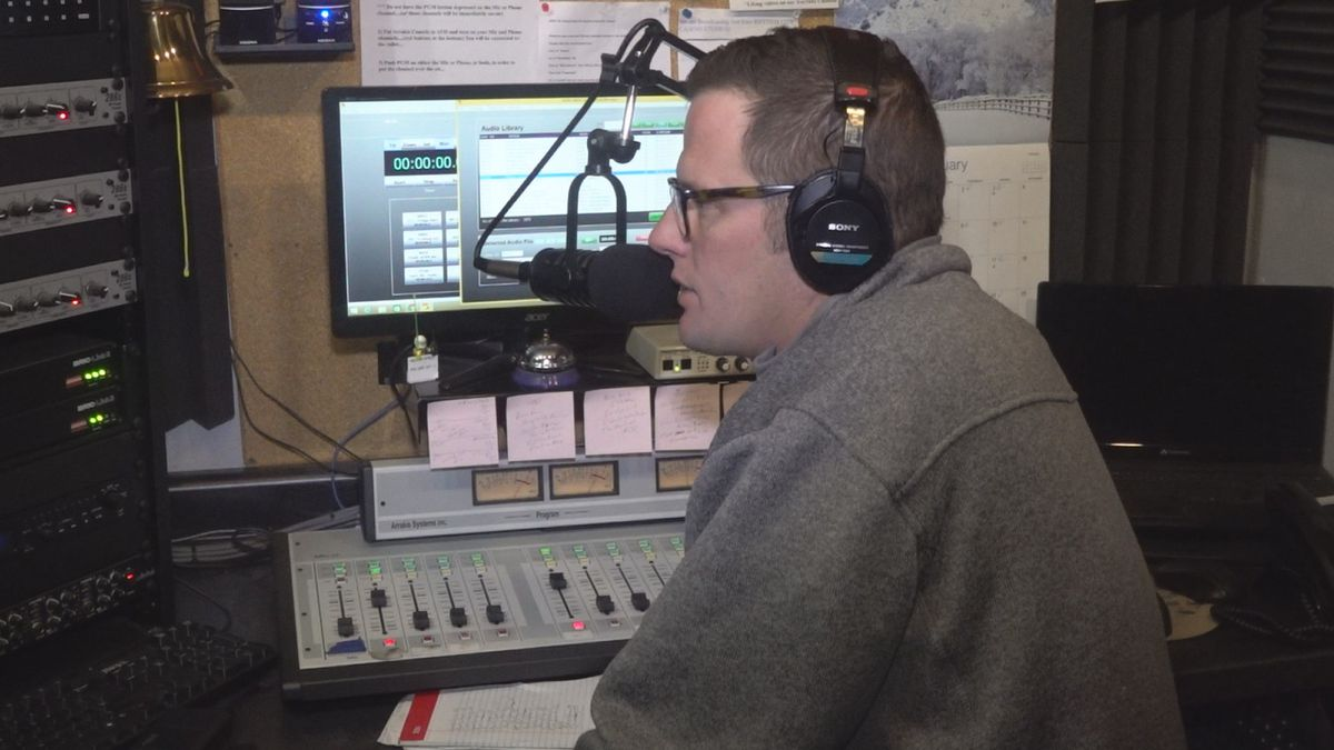 Vintage Radio, also known as 107.7 FM, explained how it's trying to keep its business alive despite national layoffs like with iHeartMedia. (KWQC)