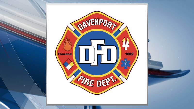Fire crews responded to a fire in the 1300 block of West 13th Street in Davenport on Wednesday.