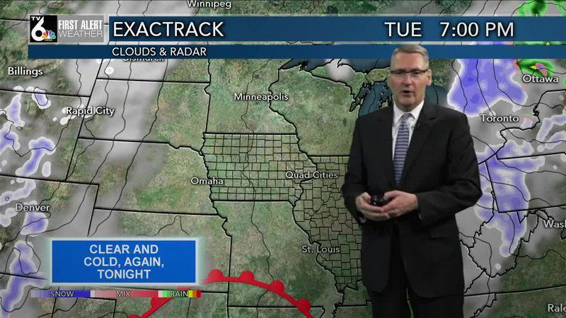 First Alert Forecast - A bit warmer over the next few days