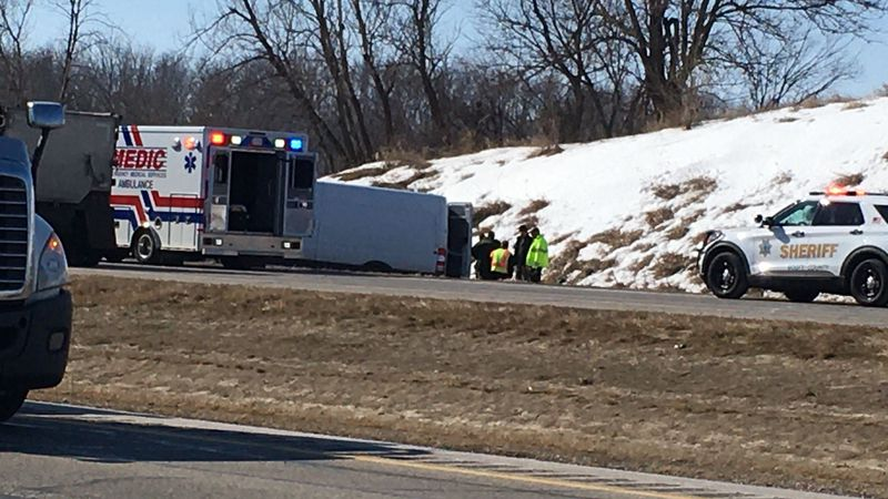 Two people were killed in a head-on accident on Highway 61.