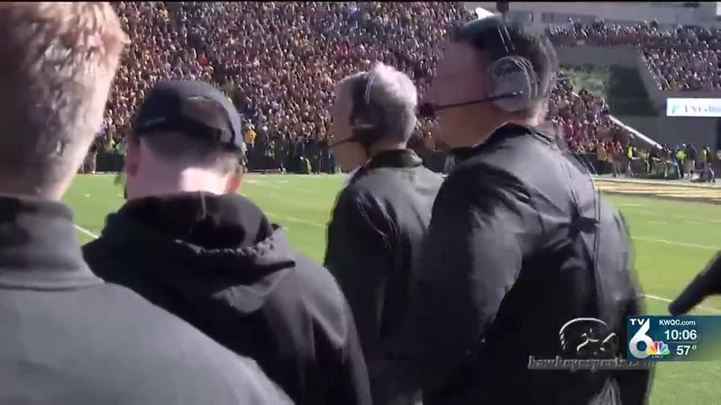 Brian Ferentz addressed accusations of racial disparity for the first time since dozens of...