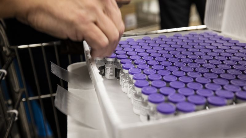 University of Iowa Health Care said it has received its first shipment of about 1,000 doses of...
