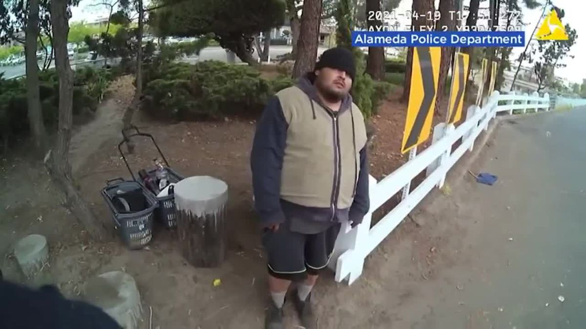 The family of a California man who died in police custody says he was murdered after seeing the...