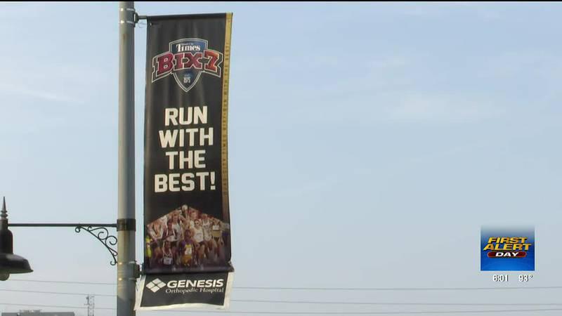Bix 7 runners and fans beat the heat