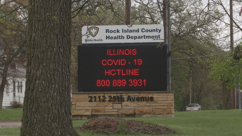 Rock Island County Health Department officials say there were 33 patients in the hospital due...