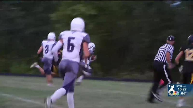 Watch highlights from Thursday's high school football and cross country action