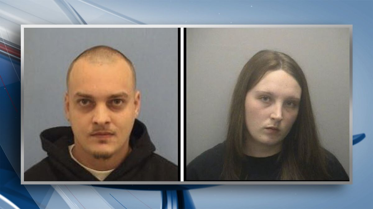 Two people are wanted by the Sterling Police Department after an armed robbery happened on February 3. Police say 26-year-old Samantha Jo Thomas and 26-year-old James W. Zacharias are both wanted for armed robbery on a Whiteside County arrest warrant. (KWQC/Sterling PD)