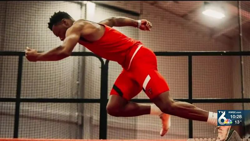 Rock Island's Courtney Lindsey currently has the world's fastest time this season in the 200m