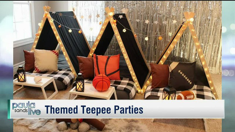 Themed Tee Pee Parties from Posh TEEPEE in Quad Cities