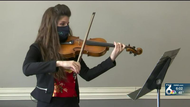 QC Symphony Orchestra bringing live entertainment to Milan vaccine clinic