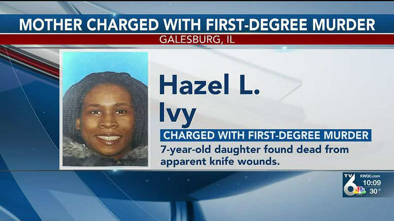 A Galesburg woman has been charged with first-degree murder in the stabbing death of her...