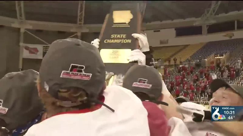 Lancers top 2nd ranked Harlan, 30-6 at the UNI-Dome