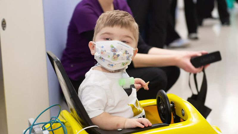 Fort Madison boy leaves hospital for home for first time